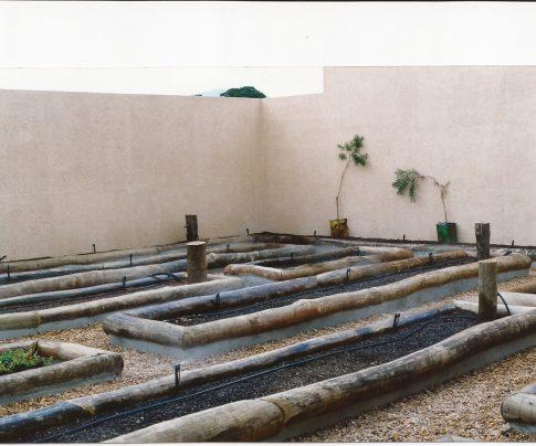 Horta Caseira com Micro Aspersores