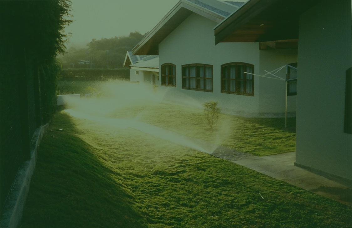 Irrigação residencial