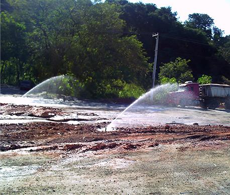 Despoeiramento Estrada Polimix-6